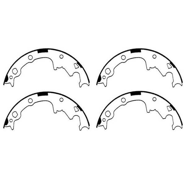 omix-ada  16726 17 rear brake shoes  90-00 cherokee  wrangler  comanche