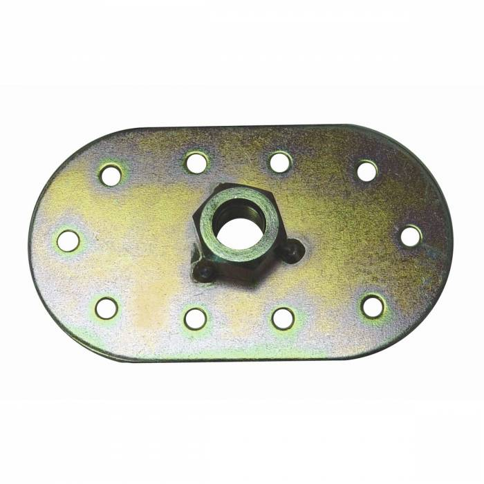 Omix-Ada - Omix-Ada Seat Belt Mounting Oval, 1/2 Inch x 20 Thread, Universal 13202.06