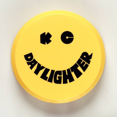 "KC HiLiTES - KC HiLiTES 6"" Plastic Cover - KC #5202 (Yellow with Black KC Daylighter Logo) 5202"