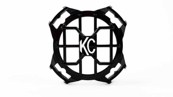 "KC HiLiTES - KC HiLiTES 4"" LZR Stone Guard - Black - KC #7218 7218"