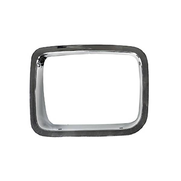Omix-Ada - Omix-Ada LH Chrome Headlight Bezel; 87-95 Jeep Wrangler YJ 12419.21