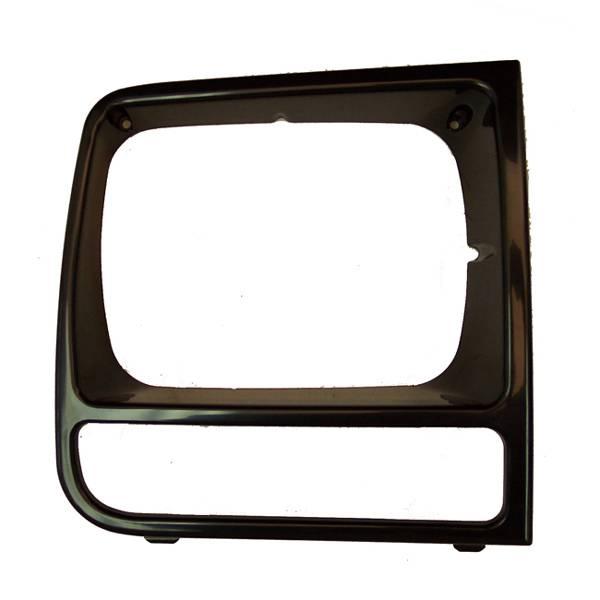 Omix-Ada - Omix-Ada RH Black Headlight Bezel; 97-01 Jeep Cherokee XJ 12419.18