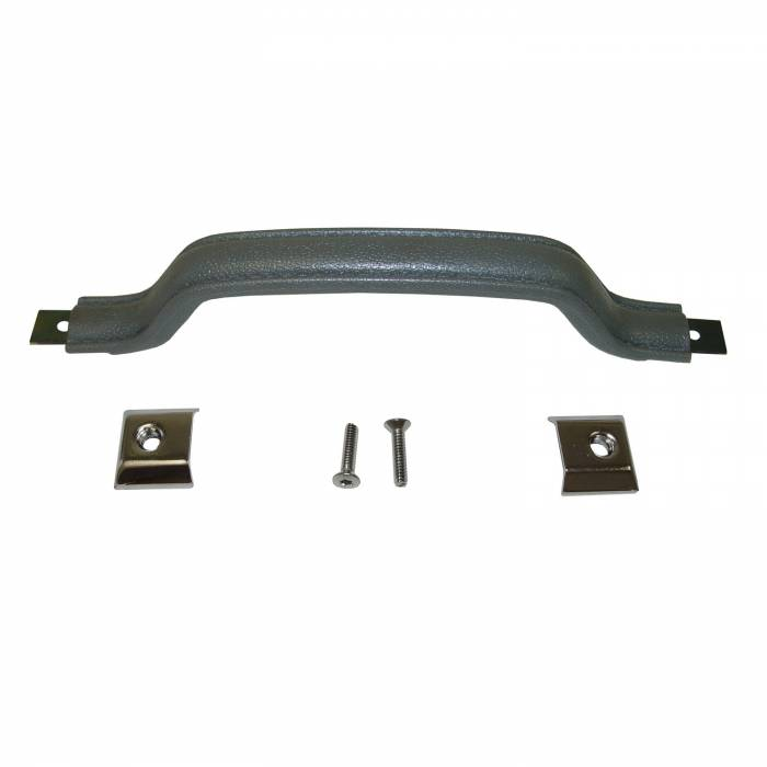Omix-Ada - Omix-Ada Interior Door Handle Kit, Gray; 87-95 Jeep Wrangler YJ 11816.09