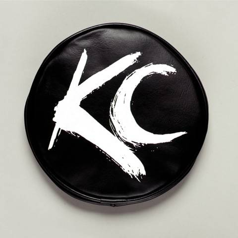 "KC HiLiTES - KC HiLiTES 6"" Vinyl Cover - KC #5117 (Black with White Brushed KC Logo) 5117"