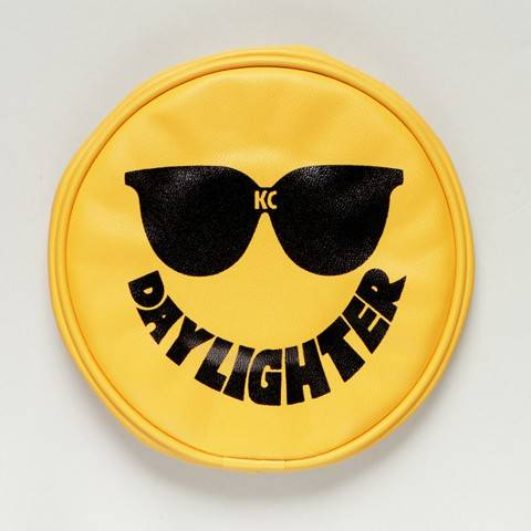 "KC HiLiTES - KC HiLiTES 6"" Vinyl Cover - KC #5205 (Yellow with Black Sun Glasses) 5205"