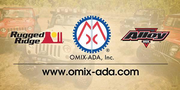 Omix-Ada - Omix-Ada 2013 Omix-ADA Banner, URL, 36x18 12580.11