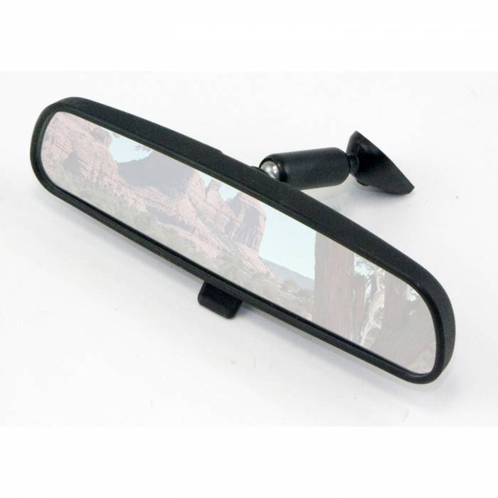 Omix-Ada - Omix-Ada Rear-View Mirror; 72-02 Jeep CJ/Wrangler YJ/TJ 12020.03