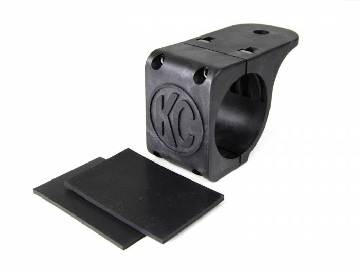 """KC HiLiTES - KC HiLiTES Tube Clamp Mount Bracket for 2.25"""" to 2.5"""" Round Light Bars and Roof Racks 7308"""