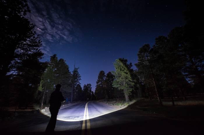KC HiLiTES - KC HiLiTES LED Flashlight Adjustable Focus - Black - KC #9923 9923