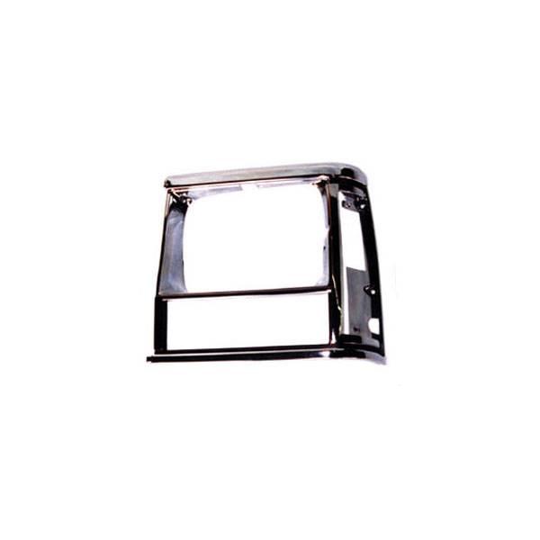 Omix-Ada - Omix-Ada LH Chrome, Headlight Bezel; 91-96 Jeep Cherokee XJ 12419.13