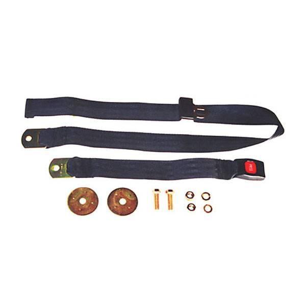 Omix-Ada - Omix-Ada 60 Inch Front/Rear Lap Seat Belt; 41-95 Jeep CJ/Wrangler YJ 13202.04