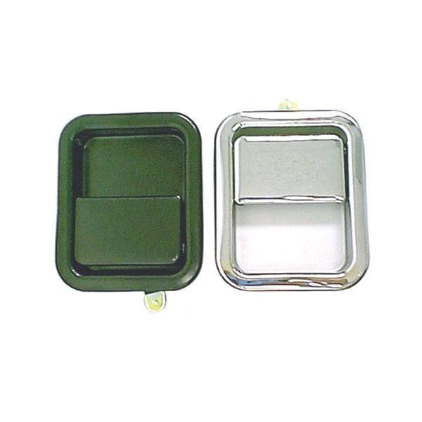 Omix-Ada - Omix-Ada Paddle Door Handle, Black; 81-06 Jeep CJ/Wrangler YJ/TJ 11812.05