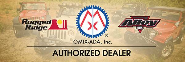 Omix-Ada - Omix-Ada 2013 Omix-ADA Banner, Dealer, 72x24 12580.12