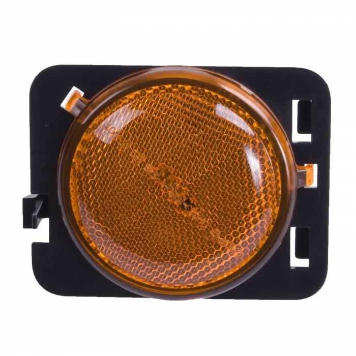 Omix-Ada - Omix-Ada Side Marker Light, Amber, LH; 07-16 Jeep Wrangler 12401.25