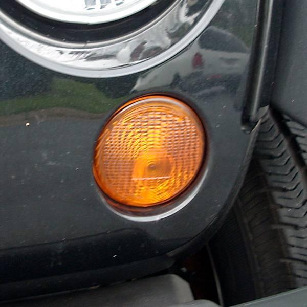 Omix-Ada - Omix-Ada Left Park Lamp Amber; 07-13 Jeep Wrangler JK 12405.25