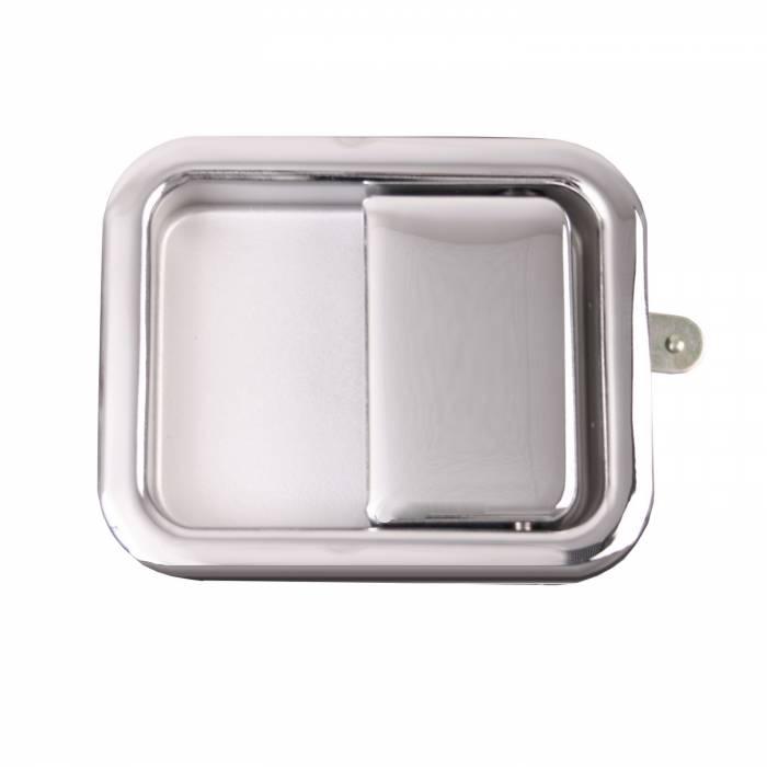 Omix-Ada - Omix-Ada Paddle Door Handle, Chrome; 81-06 Jeep CJ/Wrangler YJ/TJ 11812.03