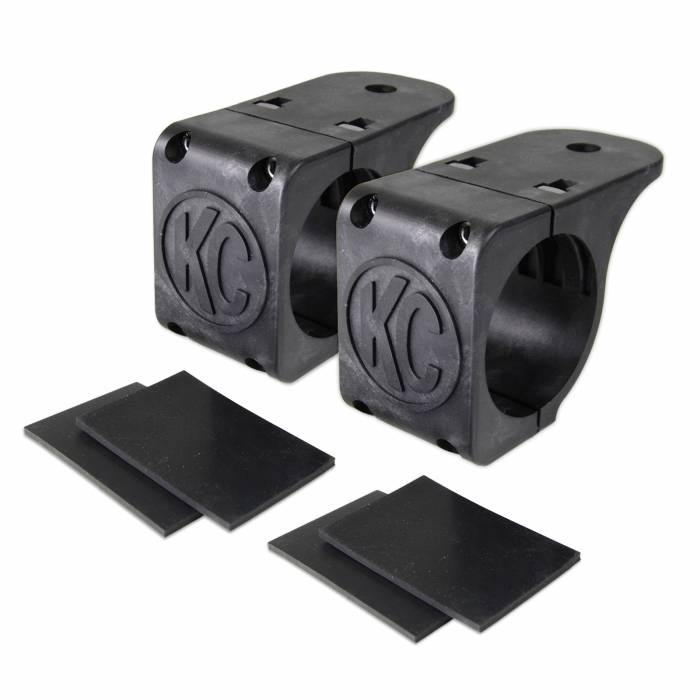 "KC HiLiTES - KC HiLiTES Tube Clamp Mount Bracket Pair for 1.75"" to 2"" Round Light Bars - #73071 73071"