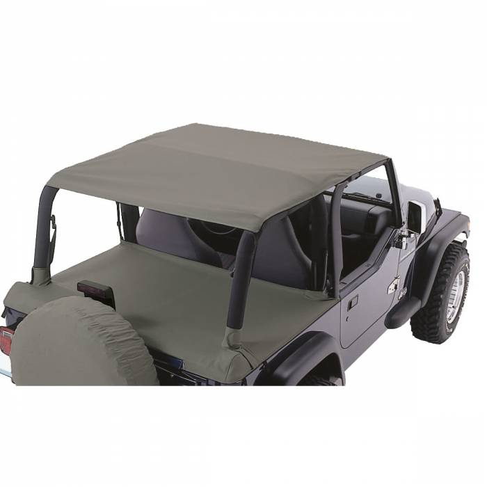 Rugged Ridge - Rugged Ridge Header Roll Bar Top, Khaki Diamond; 97-06 Jeep Wrangler TJ 13581.36