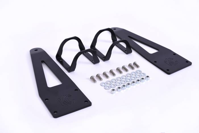 "KC HiLiTES - KC HiLiTES 40"" LED Light Bar Overhead Mounting Bracket Set for Can-Am Maverick UTV - 73410 73410"