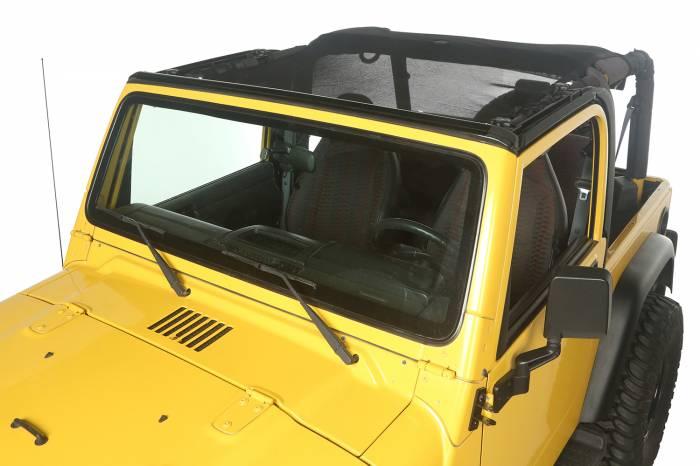 Rugged Ridge - Rugged Ridge Eclipse Sun Shade, Full Cover; 97-06 Jeep Wrangler TJ 13579.08