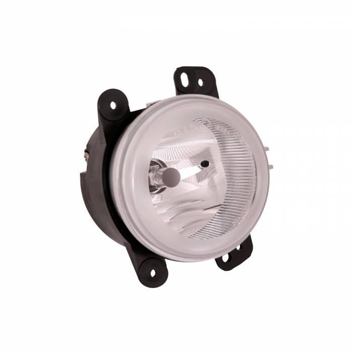 Omix-Ada - Omix-Ada Fog Light Assembly; 07-09 Jeep Wrangler JK 12407.12