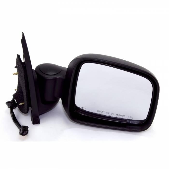 Omix-Ada - Omix-Ada Right Side Black Power Heated Mirror; 02-07 Jeep Liberty KJ 12042.14