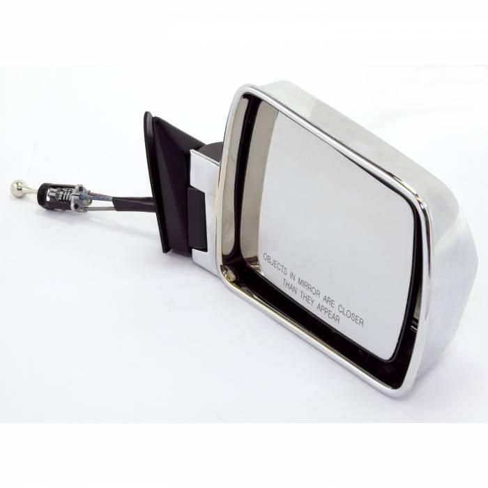 Omix-Ada - Omix-Ada Right Chrome Mirror; 84-96 Jeep Cherokee XJ 12035.14