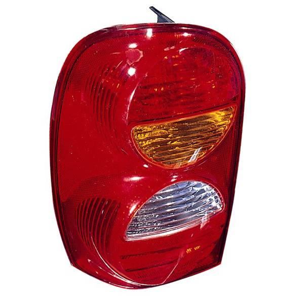 Omix-Ada - Omix-Ada Right Tail Lamp; 02-04 Jeep Liberty KJ 12403.26