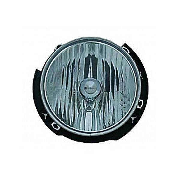 Omix-Ada - Omix-Ada Left Headlight Assembly; 07-16 Jeep Wrangler JK 12402.21
