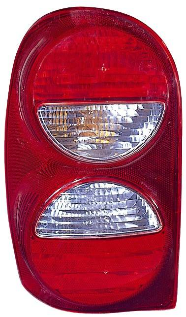 Omix-Ada - Omix-Ada Right Tail Light Without Air Dam; 05-07 Jeep Liberty KJ 12403.28