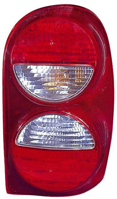 Omix-Ada - Omix-Ada Left Tail Light Without Air Dam; 05-07 Jeep Liberty KJ 12403.29