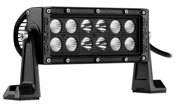 "KC HiLiTES - KC HiLiTES 6"" C SERIES C6 LED LIGHT BAR COMBO BEAM - KC #314 (SPOT/SPREAD BEAM) 314"