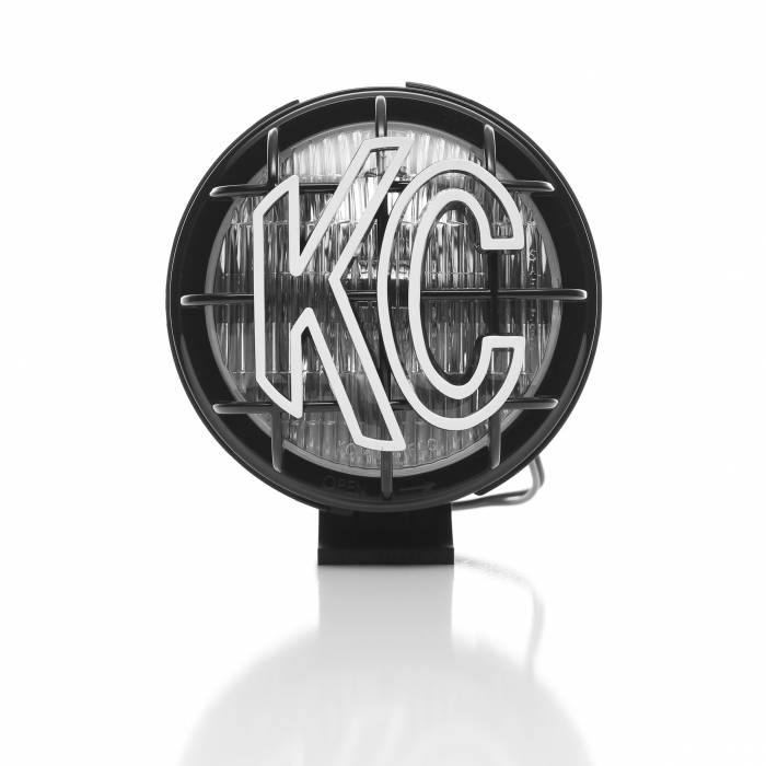 "KC HiLiTES - KC HiLiTES 5"" Apollo Pro Halogen Pair Pack System - Black - KC #452 (Fog Beam) 452"