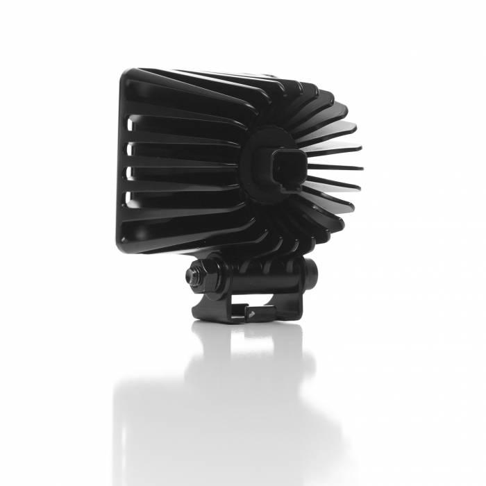 "KC HiLiTES - KC HiLiTES 3"" LZR LED Cube Pair Pack System - Black - KC #310 310"