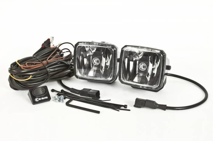 KC HiLiTES - KC HiLiTES Gravity LED G34 Driving Beam SAE/ECE Pair Pack Light System - KC #431 431