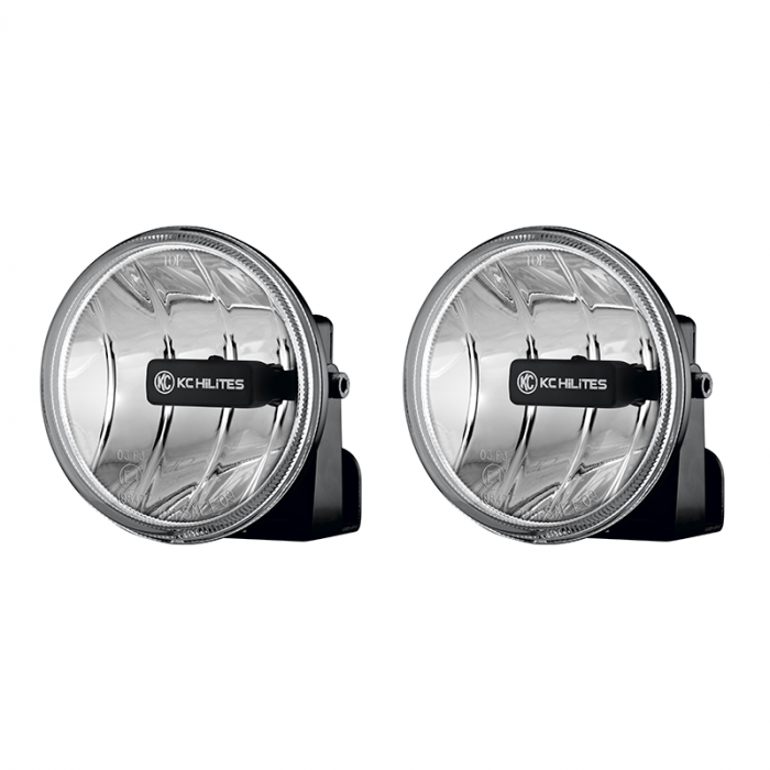 KC HiLiTES - KC HiLiTES Gravity LED G4 Fog Light Pair Pack System #495 - ( Amber Universal ) 495