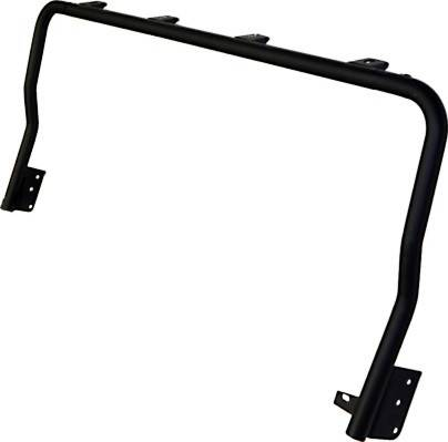 KC HiLiTES - KC HiLiTES 4-Tab Overhead Light Bar for Jeep Wrangler TJ (1997-2006) - Black - KC #7416 7416