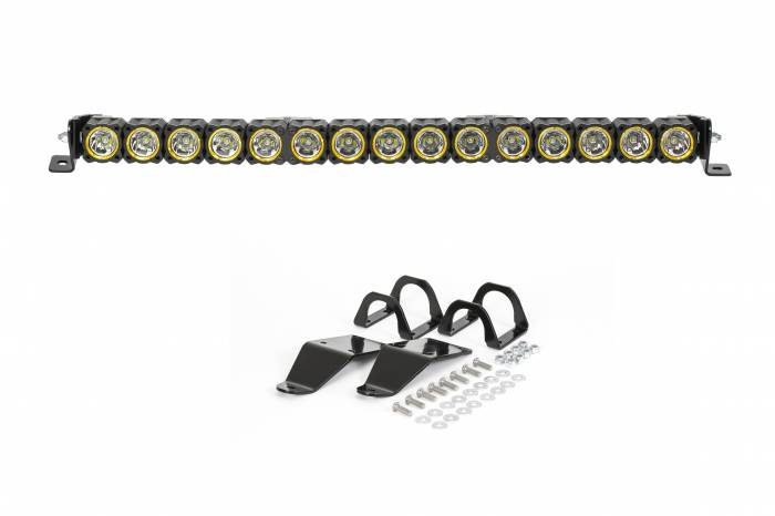 """KC HiLiTES - KC HiLiTES 30"""" KC FLEX LED Light Bar Mounting Kit for Polaris RZR - #91322 91322"""