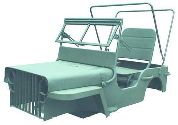 Omix-Ada - Omix-Ada Willys Mini MB Body Kit, Steel, Universal 12001.01