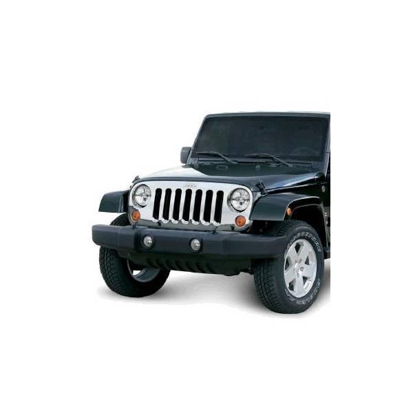 Omix-Ada - Omix-Ada Chrome Grille Overlay; 07-16 Jeep Wrangler JK 12033.05