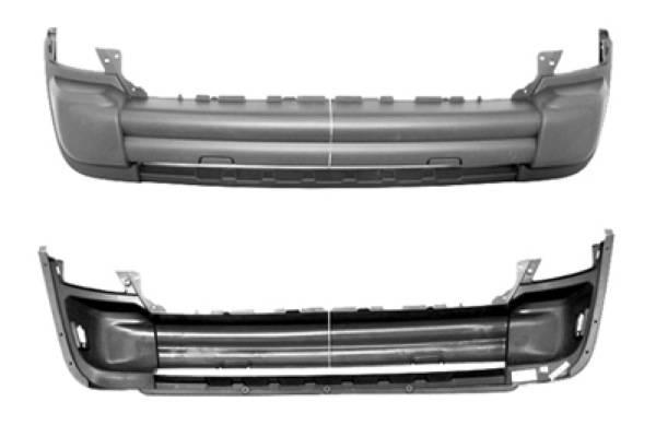 Omix-Ada - Omix-Ada Front Bumper Cover; 05-07 Jeep Liberty KJ 12042.21