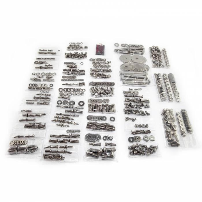 Omix-Ada - Omix-Ada Body Fastener Kit, Soft Top; 87-95 Jeep Wrangler YJ 12215.12