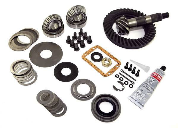 Omix-Ada - Omix-Ada Ring and Pinion, 4.56 Ratio, for Dana 30; 87-95 Jeep Wrangler YJ 16513.24