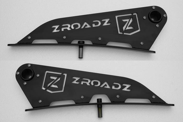 ZROADZ - ZROADZ CHEVROLET SILVERADO 1500 Front Roof Top LED Light Bar Kit Z332081-KIT-C