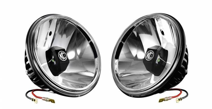 "KC HiLiTES - KC HiLiTES 6"" Gravity LED Insert Pair Pack System - KC #42056 (Wide-40 Beam) 42056"
