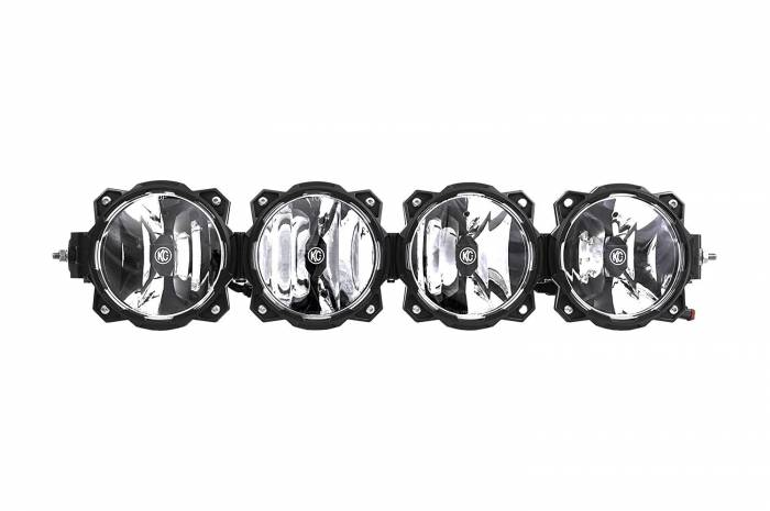 "KC HiLiTES - KC HiLiTES Gravity LED Pro6 4-Light 26"" Universal Combo LED Light Bar - #91319 91319"
