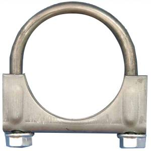 Exhaust, Mufflers & Tips - Installation & Accessory Hardware - Omix-Ada - Omix-Ada Exhaust Clamp, 2 Inch 17620.06