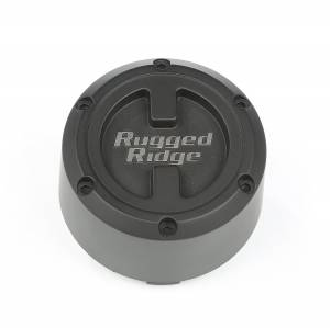 Wheels & Tires - Accessories - Rugged Ridge - Rugged Ridge XHD Center Cap, Black, 17x9 15201.55