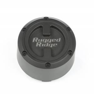 Rugged Ridge XHD Center Cap, Black, 17x9 15201.55