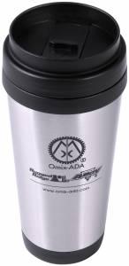 Apparel & Gear - Misc - Rugged Ridge - Rugged Ridge Travel Mug, Omix-ADA, Stainless Steel 12595.09